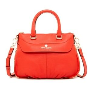 Vince Camuto Dean Small Leather Satchel